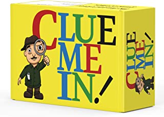 CLUE ME IN! The Best Game to add to Your Family Game Night! Use The Clues to Solve The Mystery and Play The Best Party Gam...