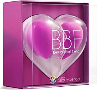 beautyblender Limited Edition BBF Heart Set, Two Original Makeup Sponges for Foundations, Powders...