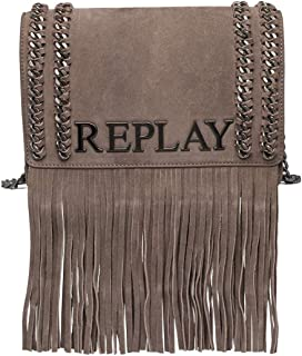 Replay Women's Shoulder Bag Leather 25Cm