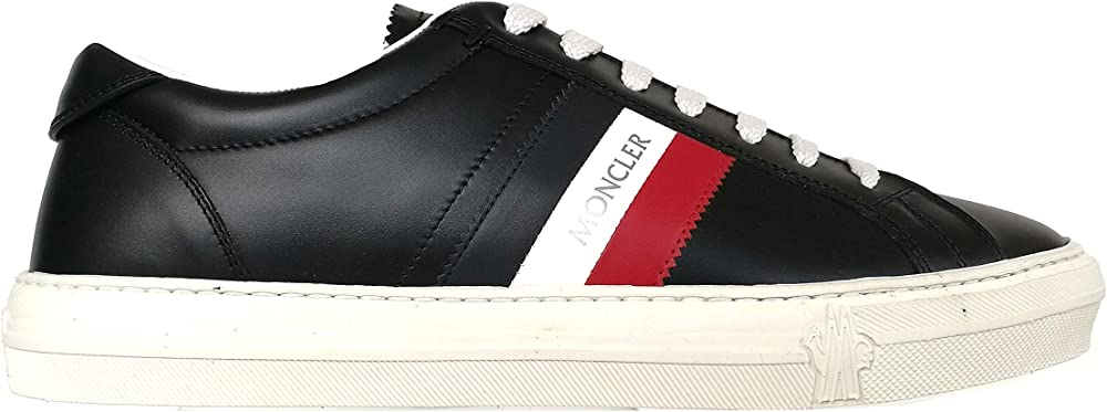 Moncler sneakers scarpe da uomo in pelle NEW MONACO