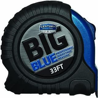 Century Drill & Tool 72833 Big Blue Tape Measure, 33-foot