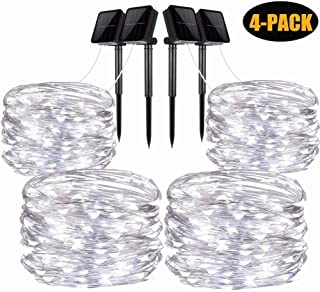 Best outdoor solar string lights warm white Reviews