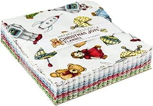 Kris Lammers Christmas Joys Flannel Charm Pack 42 5-inch Squares Maywood Studio