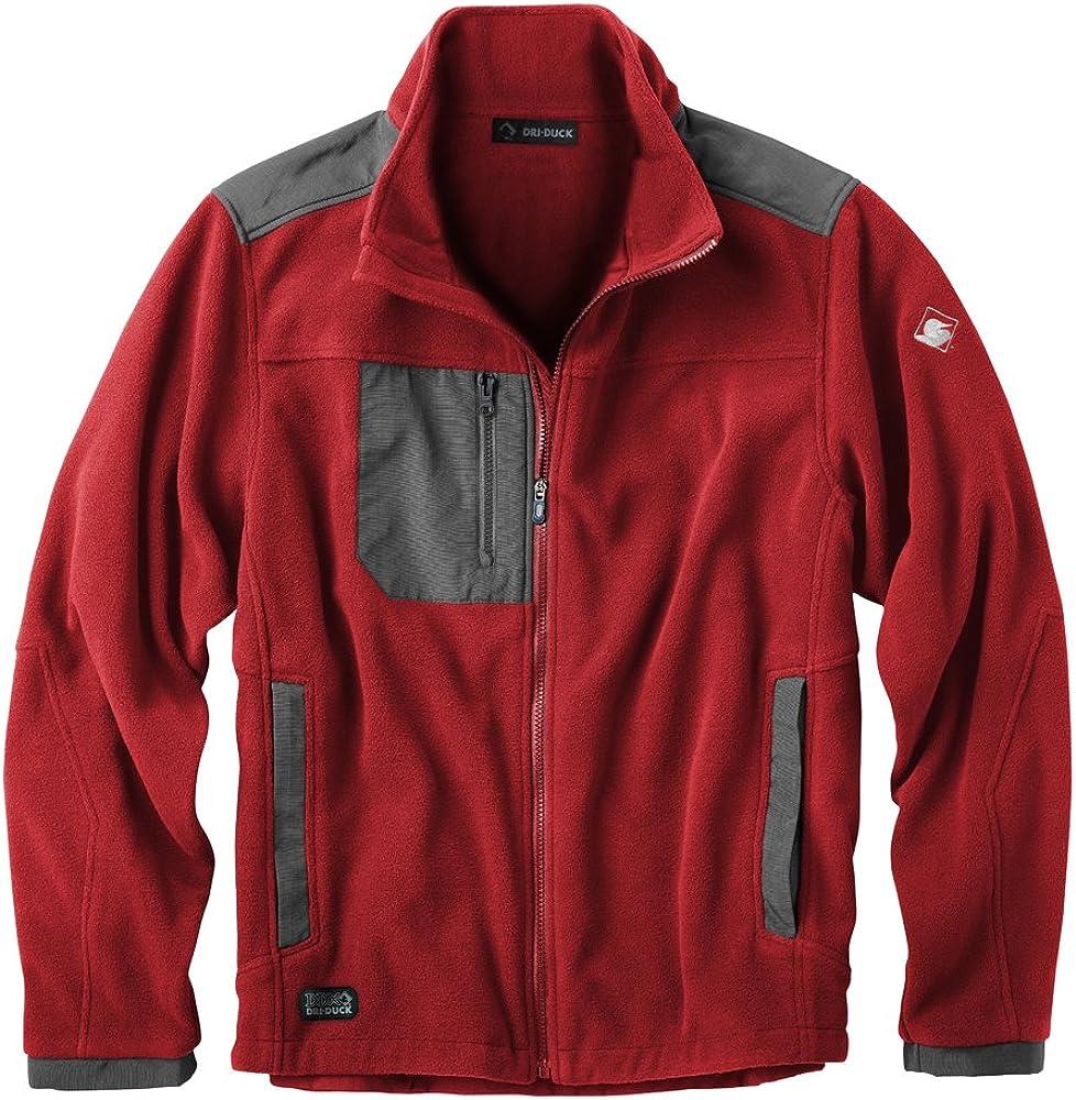 DRI Duck Dealing full price reduction Men's Max 80% OFF 7350 Fleece Jacket Quest