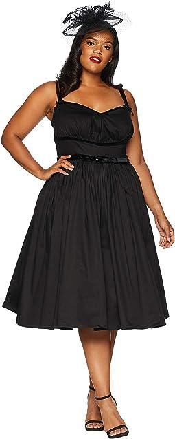 Plus Size Micheline Pitt For Unique Vintage Alice Swing Dress
