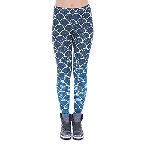 df523039f27d7 Kukubird Unicorn Flamingo Emoji Women's Gym Fitness Leggings Running Yoga  Exercise Skinny Pants Tights Size 6