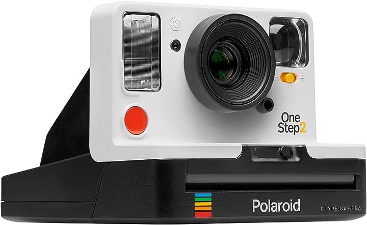 Fotocamera istantanea polaroid originals 9008 one step 2 viewfinder bianco B07C5HY1HJ