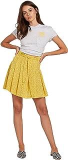 Women's Hey Bud High Waisted Paper Bag Mini Skirt