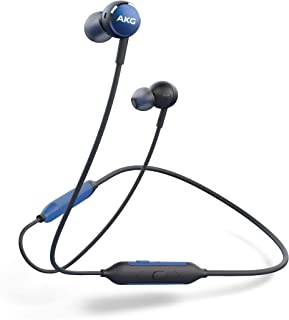 AKG Y100 WIRELESS Bluetooth 耳机 入耳式/AAC/怒吼佩戴/3键??仄?带通话麦克风 AKGY100BTAKGY100BTBLU