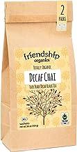 Friendship Organics Decaf Chai, Totally Organic and Fair Trade Certified Decaffeinated Black Tea in Tagless Tea Bags (36 c...