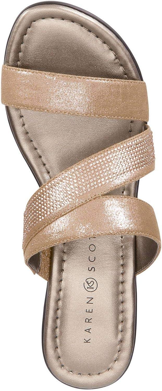 Karen Scott Womens Paulah Open Toe Casual Platform Sandals
