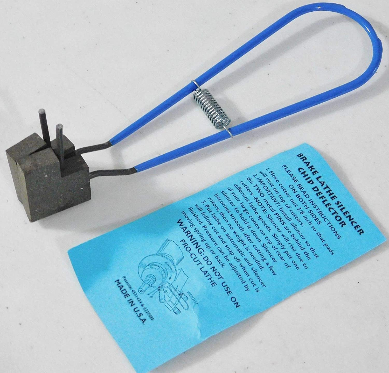 Online Auto Supply Brake 好評受付中 Lathe マーケティング Clip Silencer On Defle Rotor Chip