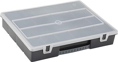 Stanley 1-92-071 Organizer (inch166 inch, 36,5 x 6,4 x 29,1 cm, 18 vakken, transparant deksel)