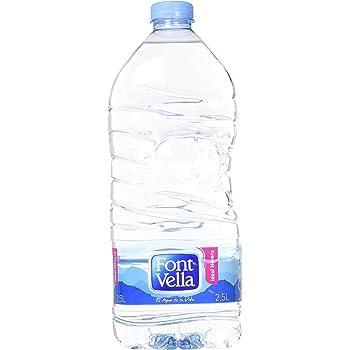 Font Vella - Agua Mineral Natural 2,5 L: Amazon.es: Alimentación y bebidas