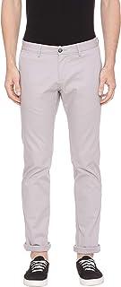 BASICS Tapered Fit Flint Grey Stretch Trouser