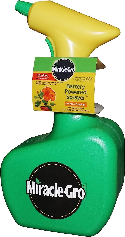 Miracle-Gro 190518 Battery Powered 48 Handheld oz. Gree Max 44% OFF Sprayer Finally popular brand
