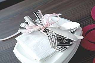 Tramontina Stainless Set Tableware set 16 pieces, Serrated edge knives, Dishwasher Safe and Mirror finishing.