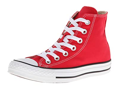 Converse Chuck Taylor(r) All Star(r) Core Hi SINGLE SHOE (Red) Shoes