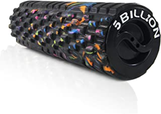 """5BILLION Foam Roller - Galaxy, 13"""" /18"""" /24"""" - High Density Exercise Roller & Massage Roller - Deep Tissue Massage Tool for Physical Therapy, Back Release, Muscle Relaxation - Includes Carry Bag"""