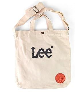 [リー] Lee ショルダーバッグ レディース メンズ A4サイズ対応 コットン 2way 斜めがけバッグ 【0425410】