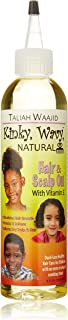 Taliah Waajid Kinky Wavy Natural Hair Scalp Oil, 8 oz
