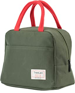 Insulated Lunch Bag for Women,Lunch Holder Insulated Lunch Tote Bag,Student Thermal Bag and Lunch Cooler Box