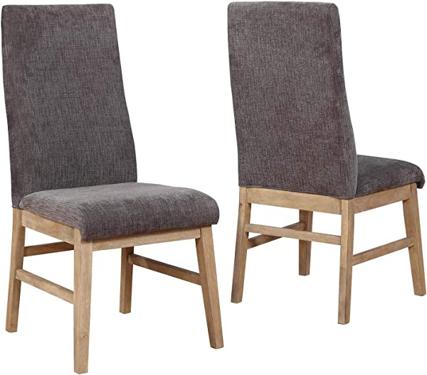 Kingston Parson Dining Chairs Grey Set Of 2
