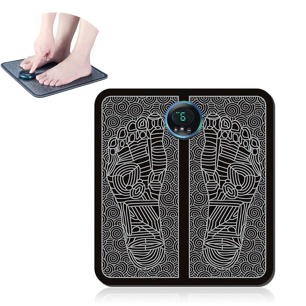 衣類コントロール練習した足のマッサージ、パルス足のマッサージクッション鍼治療のポイントのインテリジェントなバイオエレクトリック刺激は、痛みを和らげ、疲労を軽減します。