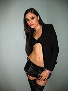 Sasha Grey in Black Lingerie Stockings Mid Photo (8 inch by 10 inch) PHOTOGRAPH TL