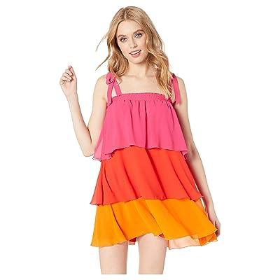 Show Me Your Mumu Gabriela Convertible Skirt Dress (Sunset Color Block) Women