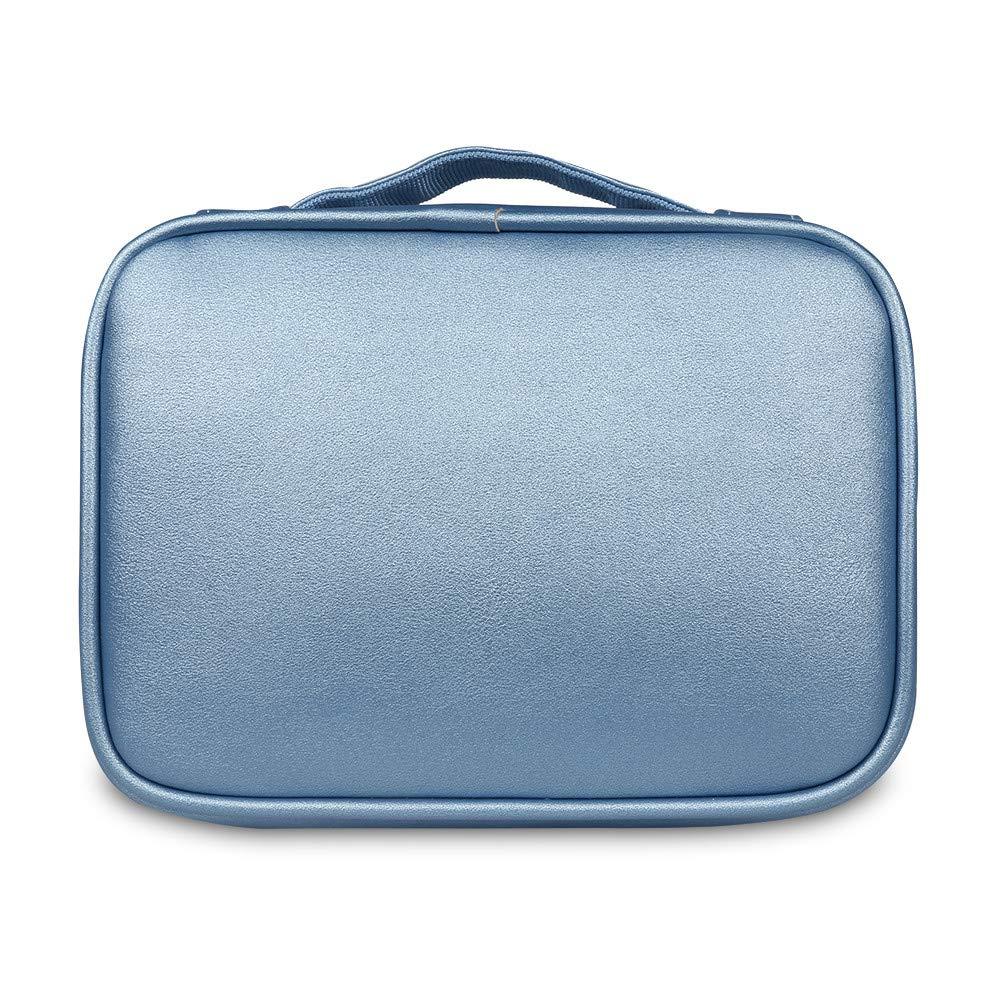 BUBMは美しいDPSパワーパックデジタルアクセサリー仕上げバッグ収納袋ウォッシュバッグ化粧品バッグiPad収納() No.3 28 * 21.5 * 11CM、ブラック)