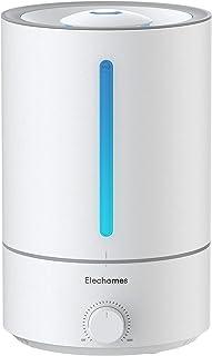 Elechomes 5L Top-Fill Luchtbevochtiger & Etherische Olieverspreider, voor Slaapkamer, Babykamer Fluisterstil, instelbare 3...