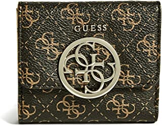 GUESS womens Kamryn Q Logo Card and Coin Purse