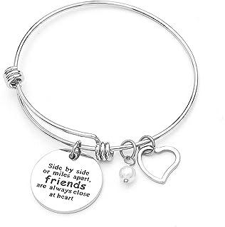 Anson&Hailey braccialetto Best Friends e Inspirational braccialetto braccialetti dell' amicizia, regolabile, regali, gioie...