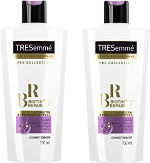 TRESemme Pro Collection Biotin+ Repair 7 Conditioner with Pro Bond Complex - 24 Fl Oz / 700 mL x 2 Pack