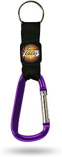 NBA Navi-Biner Carabiner Key Chainnba Navi-Biner Carabiner Key Chain, Red, Black, 7.25 x 2 x 0.5