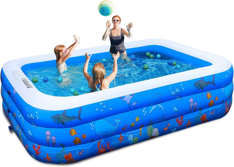 Inflatable Pool unisex Luxury 100