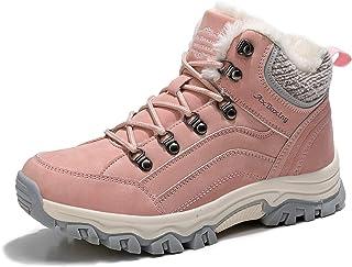 ARRIGO BELLO Botas Mujer Botines Zapatos Invierno Cálido Fur Forro Aire Libre Urbano Fiesta Oficina Caminando Senderismo 3...