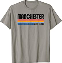 Vintage 70s 80s Style United Kingdom, Manchester T-Shirt