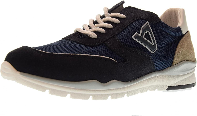 Vallegreen shoes Men Low Sneakers V19802 blue
