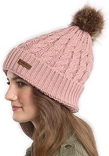 ski hat with pom pom