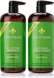 Best dermorganic argan oil shampoo Reviews