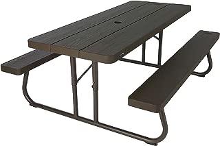 Lifetime 6' Folding Picnic Table - Brown