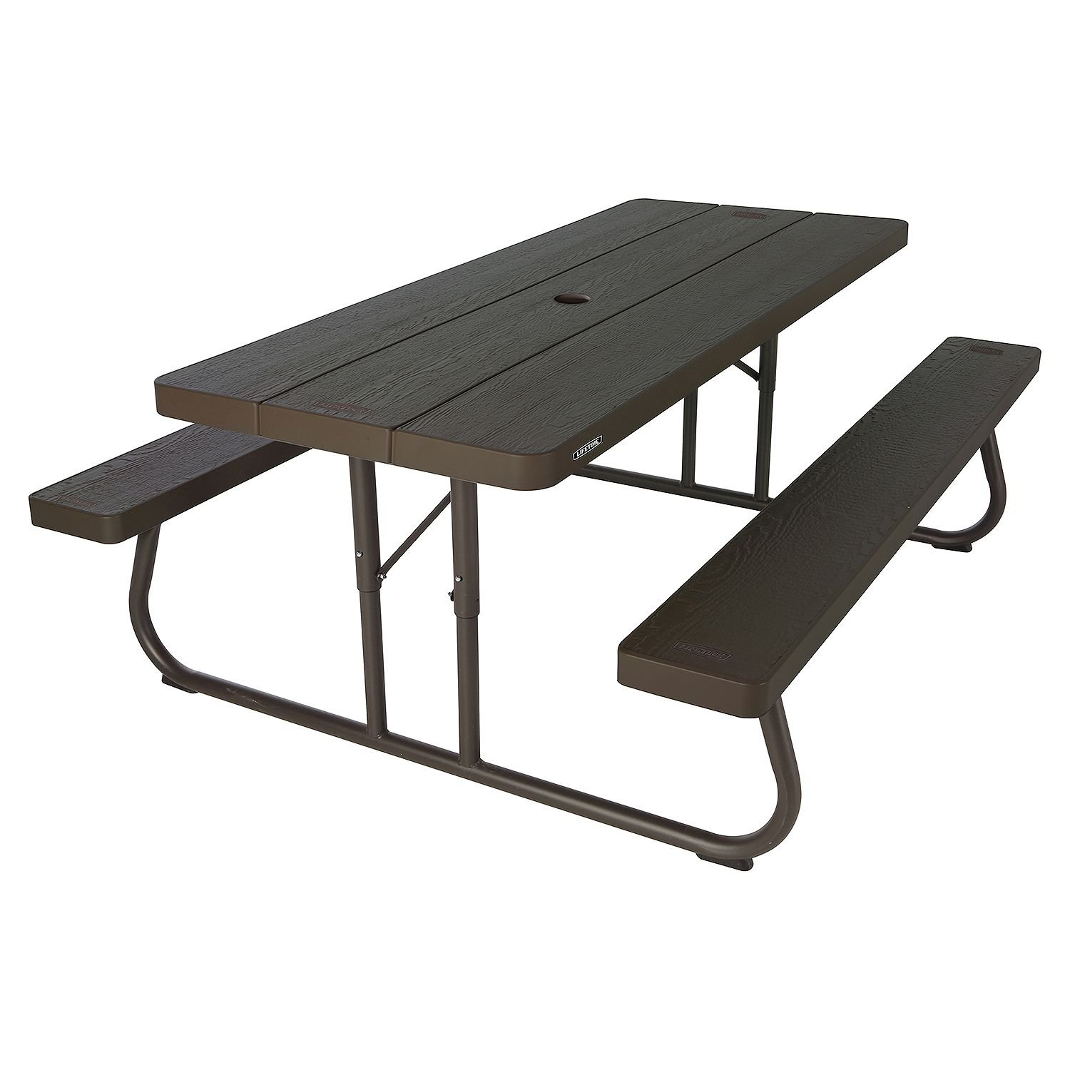 - Lifetime 6' Folding Picnic Table - Brown - Buy Online In Andorra