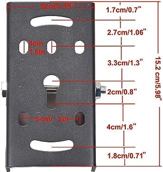 50 X Fixing bracket c mounting for 5MM LED diode  JI