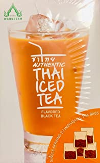 Authentic Thai Iced Tea Flavored Black Tea,20 Tea Bags (Limited Edition)