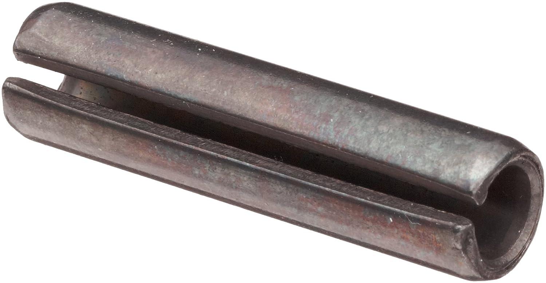 Carbon Steel Spring Pin Plain Finish Pack of 500 1//16 Nominal Diameter 1//4 Length