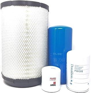 International DT466E Donaldson Filter Kit (Lube(Blue)-Fuel-Air-Coolant)