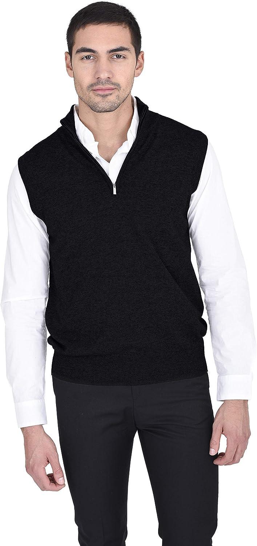 State Fusio Quarter Zip Up Sweater Cashmere free Merino Vest Lig Wool Under blast sales