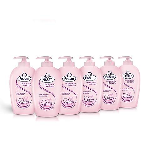 FISSAN BABY Sapone liquido Formato Convenienza 1,5 Lt ml (6 confezioni da 250 ml)